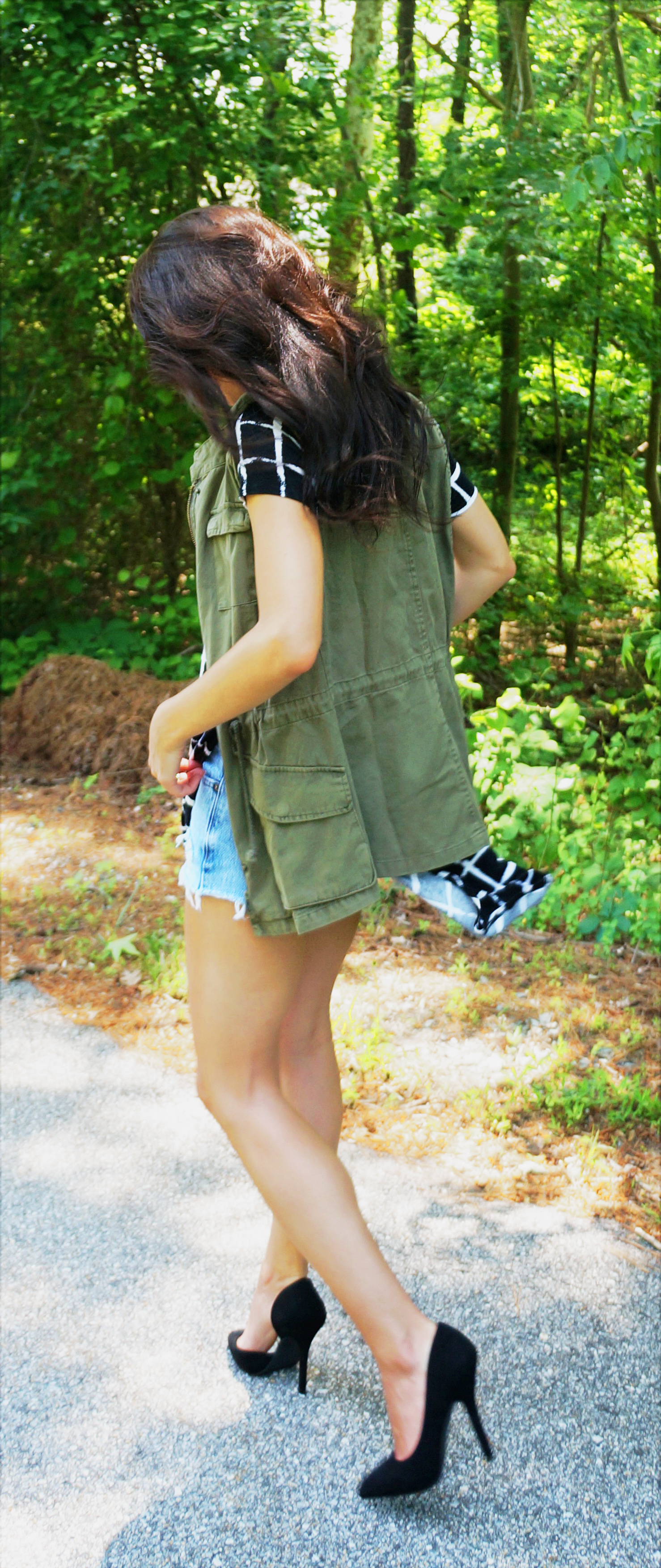 Military Green Street Style